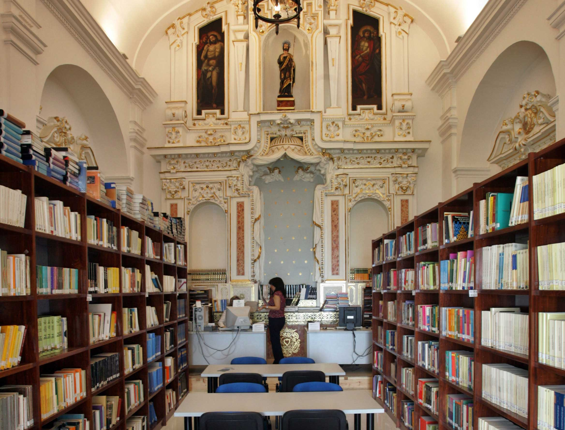 Biblioteca for Biblioteca uned